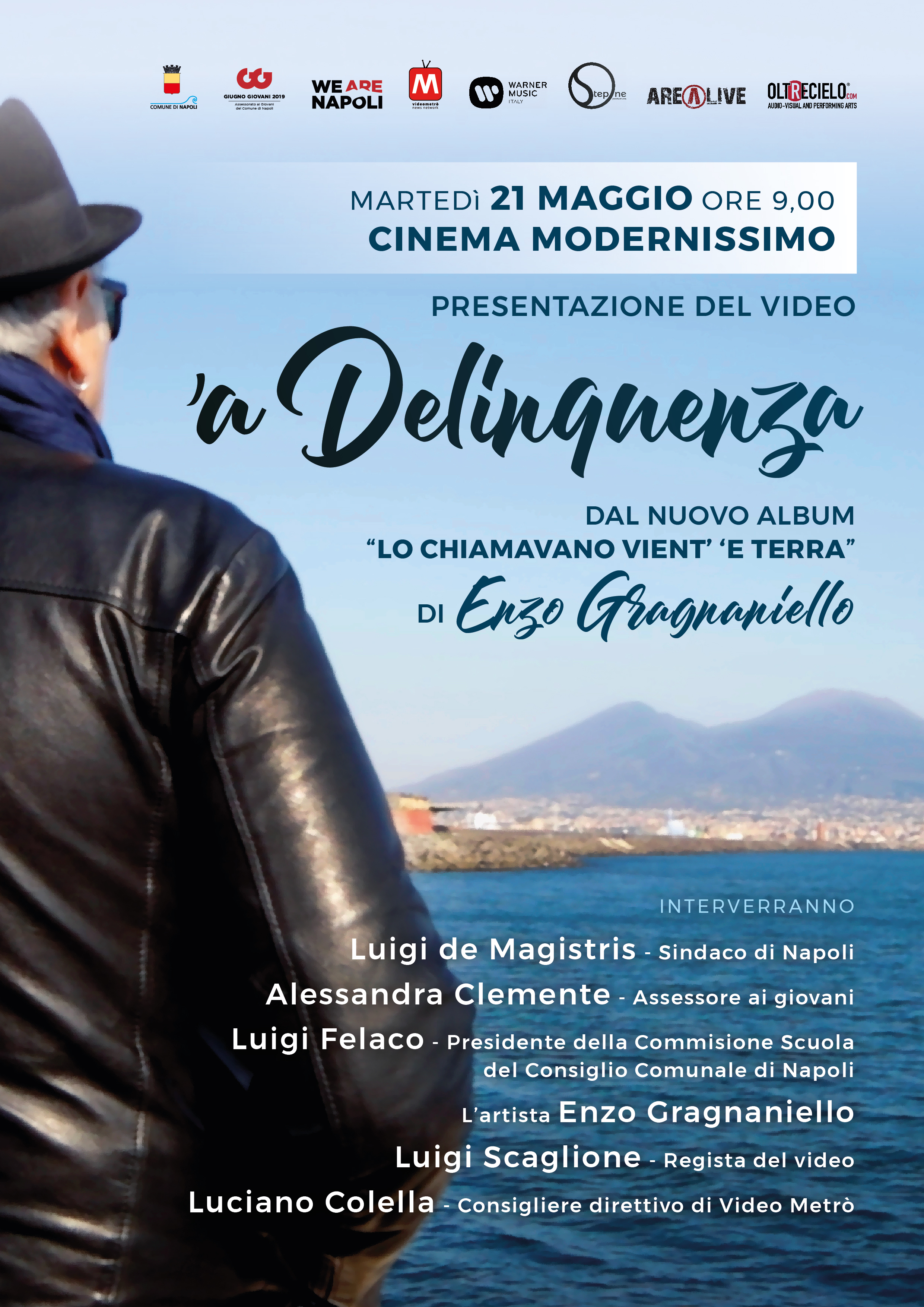 'A delinquenza - videoclip GRagnaniello